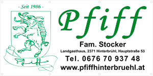 Pfiff - Landgasthaus Familie Stocker